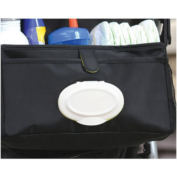 Quality New Baby Storage Bag Multifunction Baby Stroller with Diaper Bag Cup Holder for sale