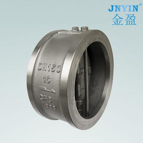 China Stainless steel butterfly check valves