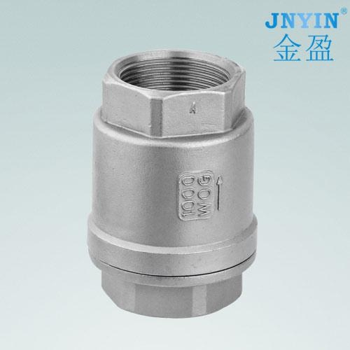 Quality Stainless steel wire buckle vertical check valve for sale