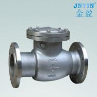 Stainless steel flange swing check valve