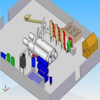 Buy cheap Full Continuous Waste Tyre Pyrolysis Plant from wholesalers