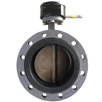 China Desulfurization flange butterfly valve