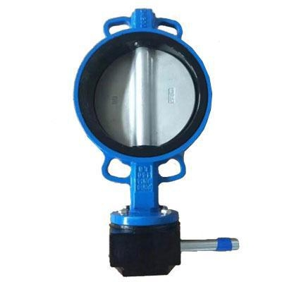 China Butterfly valve with nylon disc