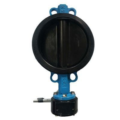China Rubber lined butterfly valve