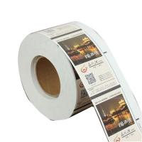 Buy cheap Carbonless roll sticker Copy Receipt Book multi functional Door product
