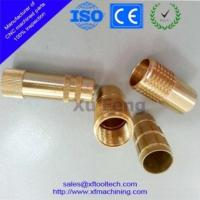 Buy cheap customized cnc machined brass parts with knurling product