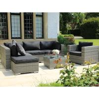 Buy cheap Modern outdoor pool rattan sun lounge adjustable back wicker chair from wholesalers