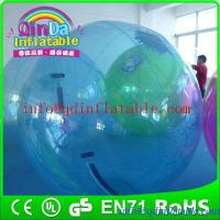 China Funny inflatable roller ball walk on water ball human hamster ball in pool on sale