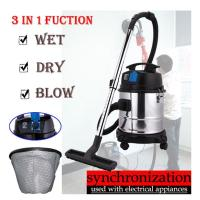 Buy cheap bagless vacuum cleaner wet abd dry with blower and extral socket product