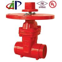 Buy cheap Fire Fighting Valve UL FM 200PSI NRS Grooved Gate Valve from wholesalers