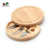 China Cheese board with knife set on sale