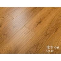 China 12mm Micro Bevel Edge Wood Texture HDF Laminate Flooring on sale