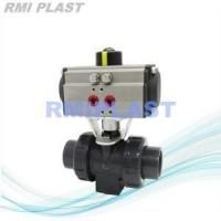 China PVC Ball Valve Pneumatic Actuated Double Acting on sale