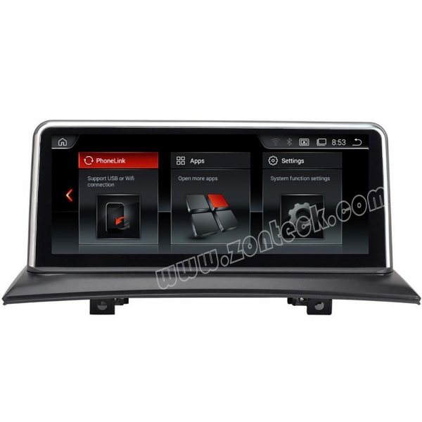 Quality Zonteck ZK-1083B 10.25 IPS BMW X3 E83 Android 7.1 Car DVD Radio for sale
