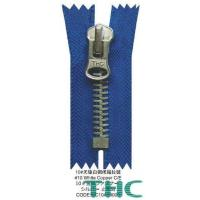 Buy cheap Mental Zippers #10 White Copper C/E from wholesalers