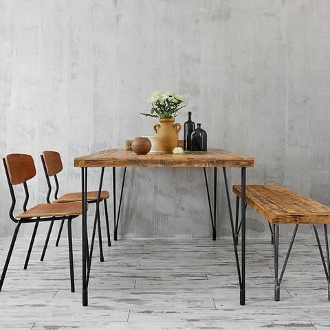 China Dining table (Hairpin legs)