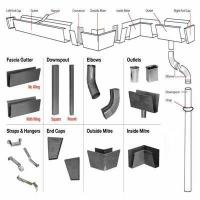 Quality Metal Rain Gutter System for sale