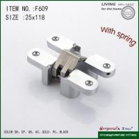 China Cross with stainless steel hinge double action spring hinge on sale