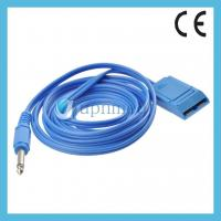 Buy cheap Patient return Plate cable diathermy cable Grounding pad cable for electro surge product