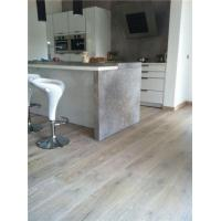 Buy cheap White Brushed Oak Engineered Floor product