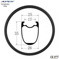 China carbon fiber 700C rims best-road-bike-rims made in china RC26W35H on sale