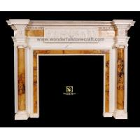 Marble fireplaces Inlaid Fireplaces 01