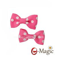 Buy cheap HB-014 Wholesale Hair Assessories Cute Baby Girl Bows Ribbon Hair Clips product