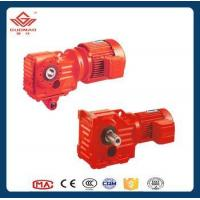 China GK Flange Mounted Bevel Gearbox on sale