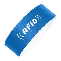 Buy cheap Hot Ucode RFID paper wristband for the water park product