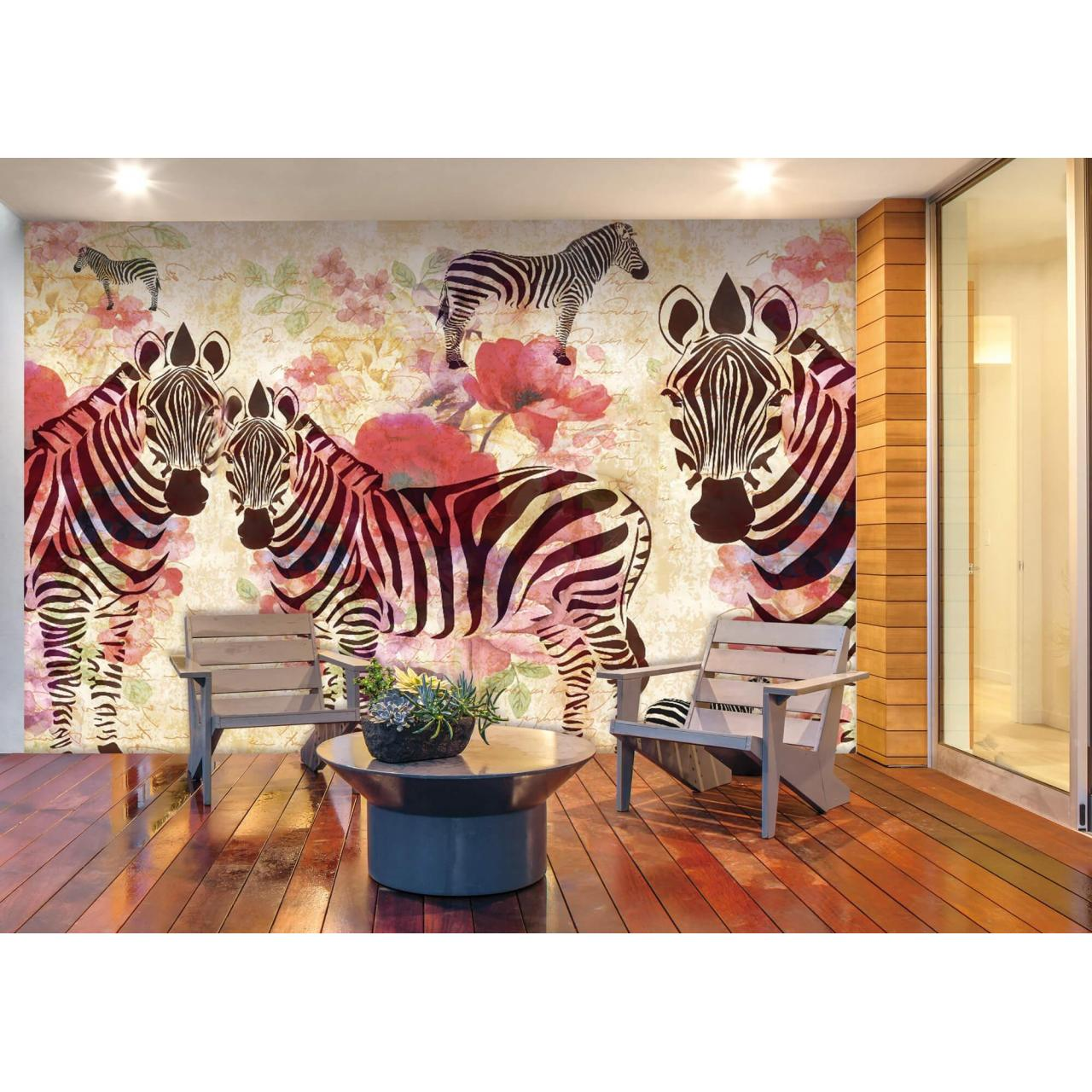 Buy cheap PHOTOMURALS Zebra family(No.8116) product