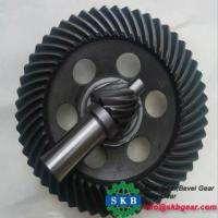 China Forge Custom-made Different Size Spur Bevel Gear on sale