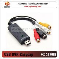 China USB 2.0 Video Easycap TV DVD VHS Capture Card Audio AV Adapter for Computer Item number: YM-0311 on sale