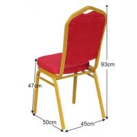 Hot sale royal wedding banquet dinner tables and chairs