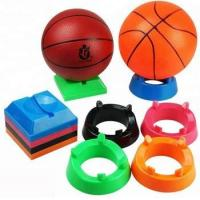 square plastic display holder for football stand show