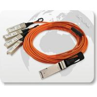 Buy cheap 40G QSFP to 4x10G SFP+ Parallel Fan-Out Fiber Cable product
