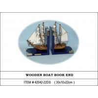 Bookend with Sailing Boat -- Wooden Craft